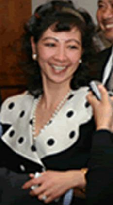 Hooked another one: Qu Li. Picture courtesy dailymail.co.uk