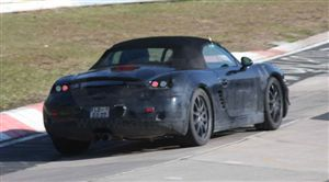 2012 Boxster spyshot. Clandestine picture courtesy carmagazine.co.uk