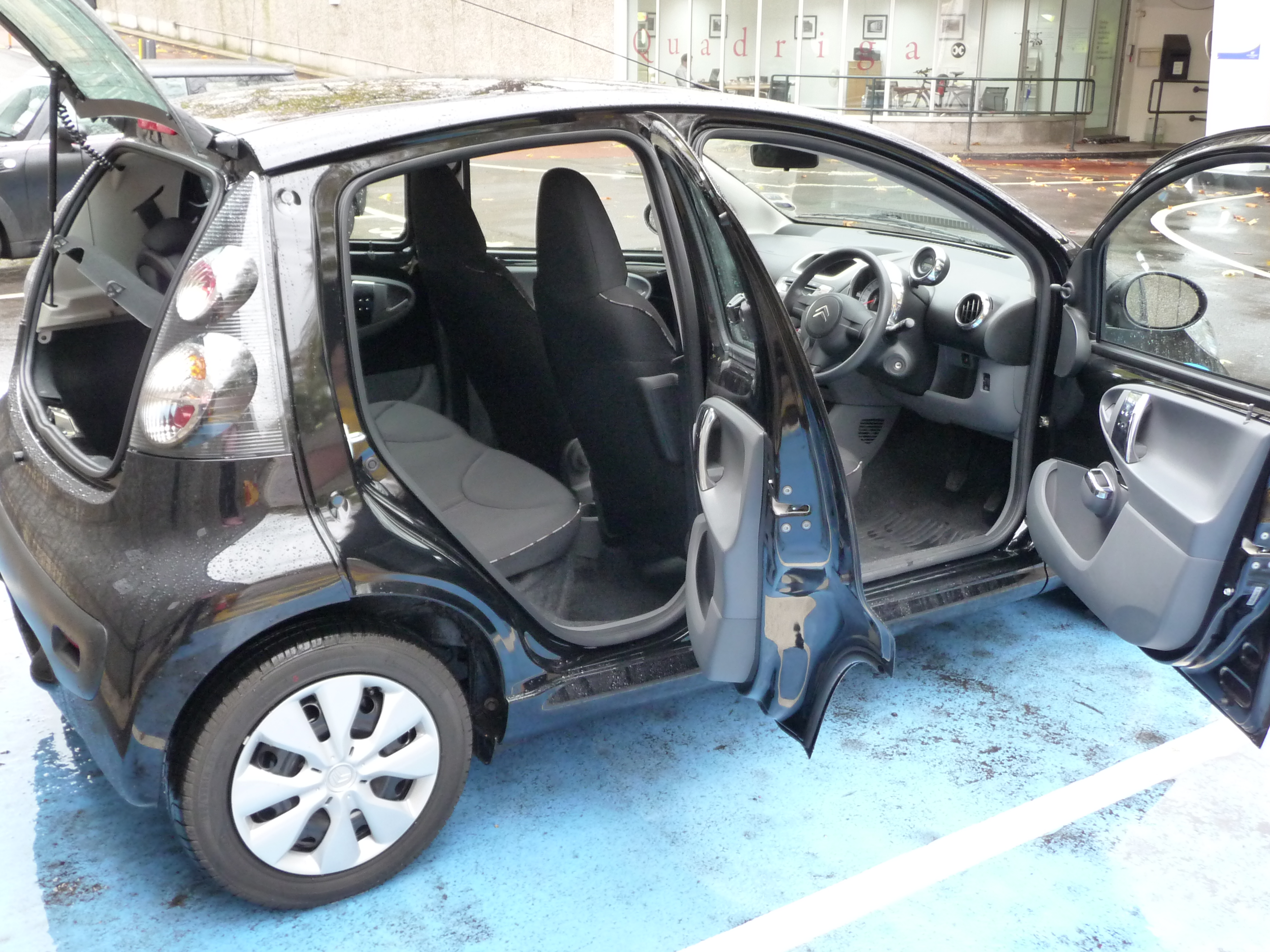 review citroen c1 ev 39 ie the truth about cars. Black Bedroom Furniture Sets. Home Design Ideas