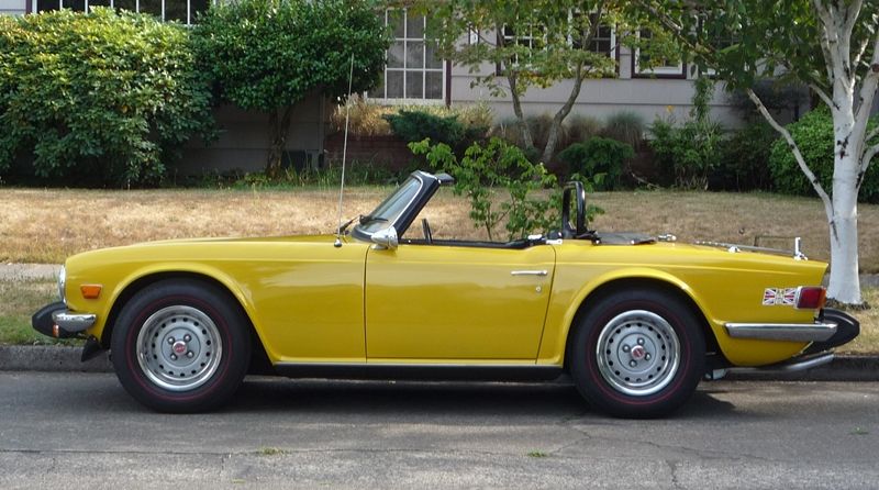 Curbside Classic Triumph Tr 6 The Truth About Cars