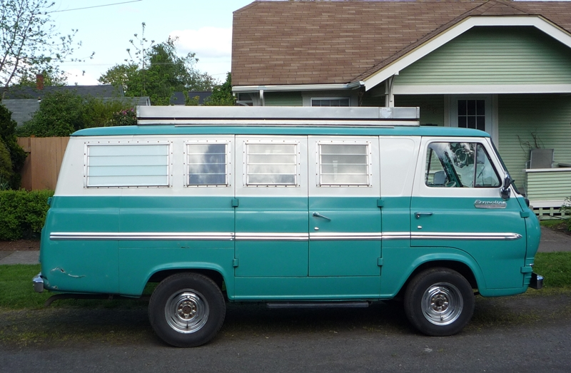 Curbside Classic 1965 Ford Econoline Supervan Camper