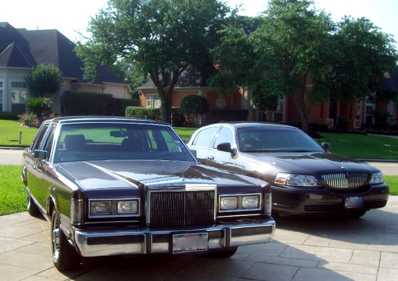 Panther Week Comparison 1988 Vs 2006 Lincoln Town Car The Truth