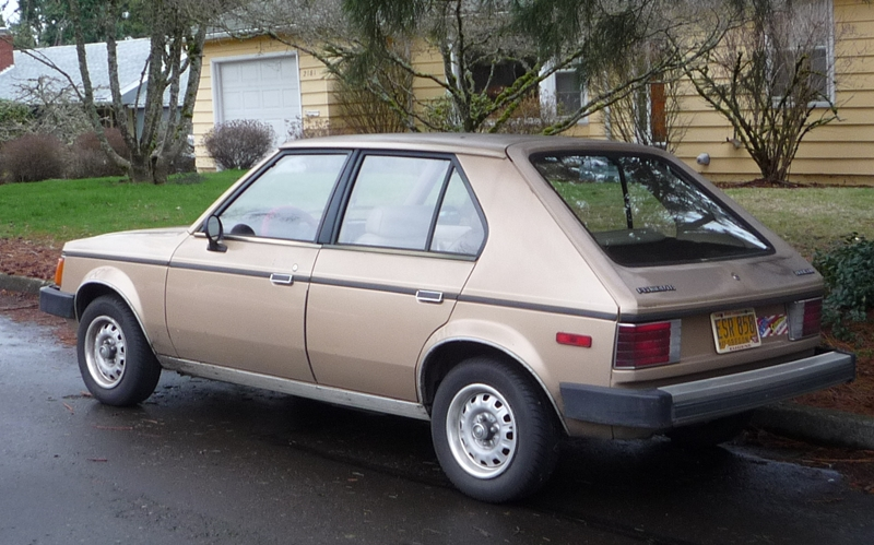 Curbside Classics: Plymouth Horizon and Dodge Omni ...