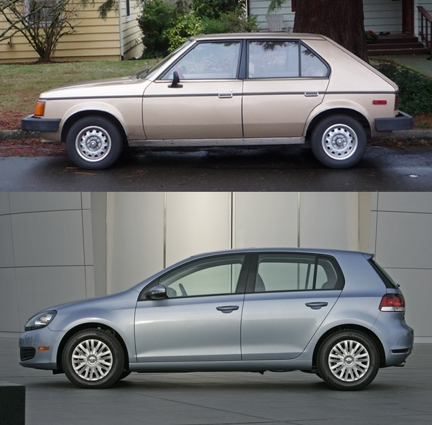 Curbside classics plymouth horizon and dodge omni detroit finally