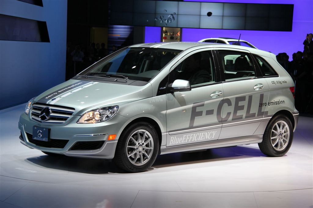 Ford hydrogen fuel cell ford free engine image for user for Mercedes benz fuel cell