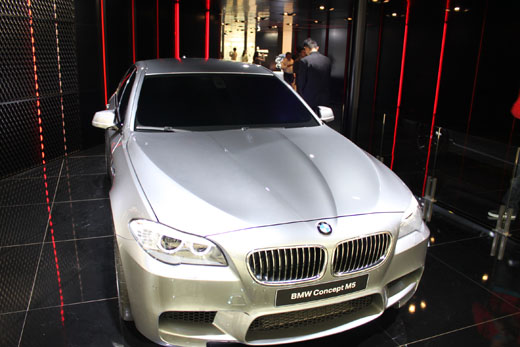 Shanghai Auto Show: The Very Much Tinted M5 Concept - The Truth ...