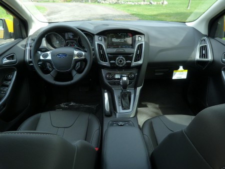 Ford Focus 2013 Hatchback Black