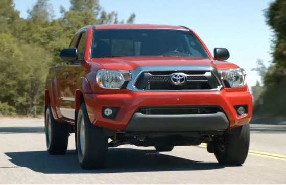 2012 Toyota Tacoma: It's A Facelift (Of Course)