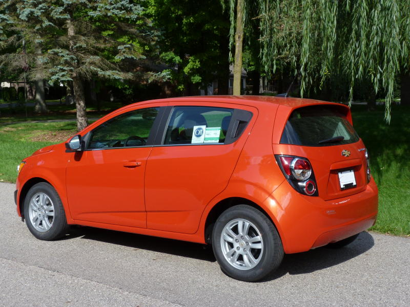 e230a13772069b Review  2012 Chevrolet Sonic LT - The Truth About Cars