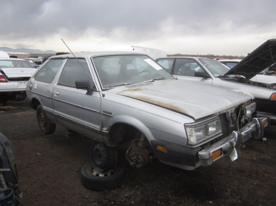Junkyard Find 1983 Honda Accord No Wait Subaru Gl