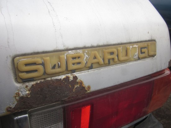 Subaru Gl Hatchback Down On The Denver Junkyard Picture Courtesy Of Phillip Warlord Of The Alameda East Side Locos Greden X on 94 Honda Accord