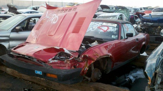 Junkyard Find 1980 Triumph Tr7 With V8 V6 Swap The Truth About Cars