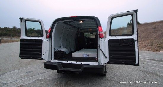 Commercial Week Day Two Review 2012 Gmc Savana And