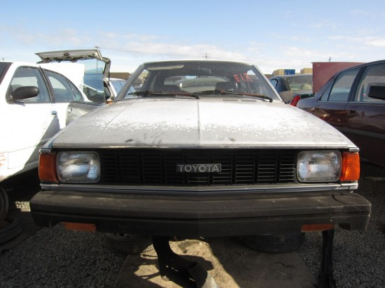 Junkyard Find 1981 Toyota Corolla Liftback Coupe The
