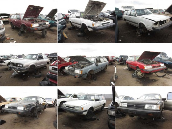 Junkyard Find Denver Style So Many Old Subarus The Truth About Cars