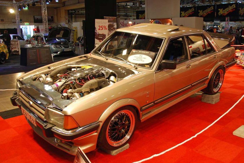 The 1 700 Horsepower Ford Granada The Truth About Cars
