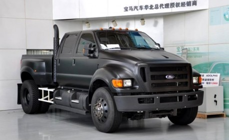 Matte Black Excursion >> Big Brute F650 Super Duties Invade China – After Paying Super Duty - The Truth About Cars