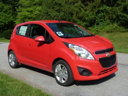 Review 2013 Chevrolet Spark Ls The Truth About Cars