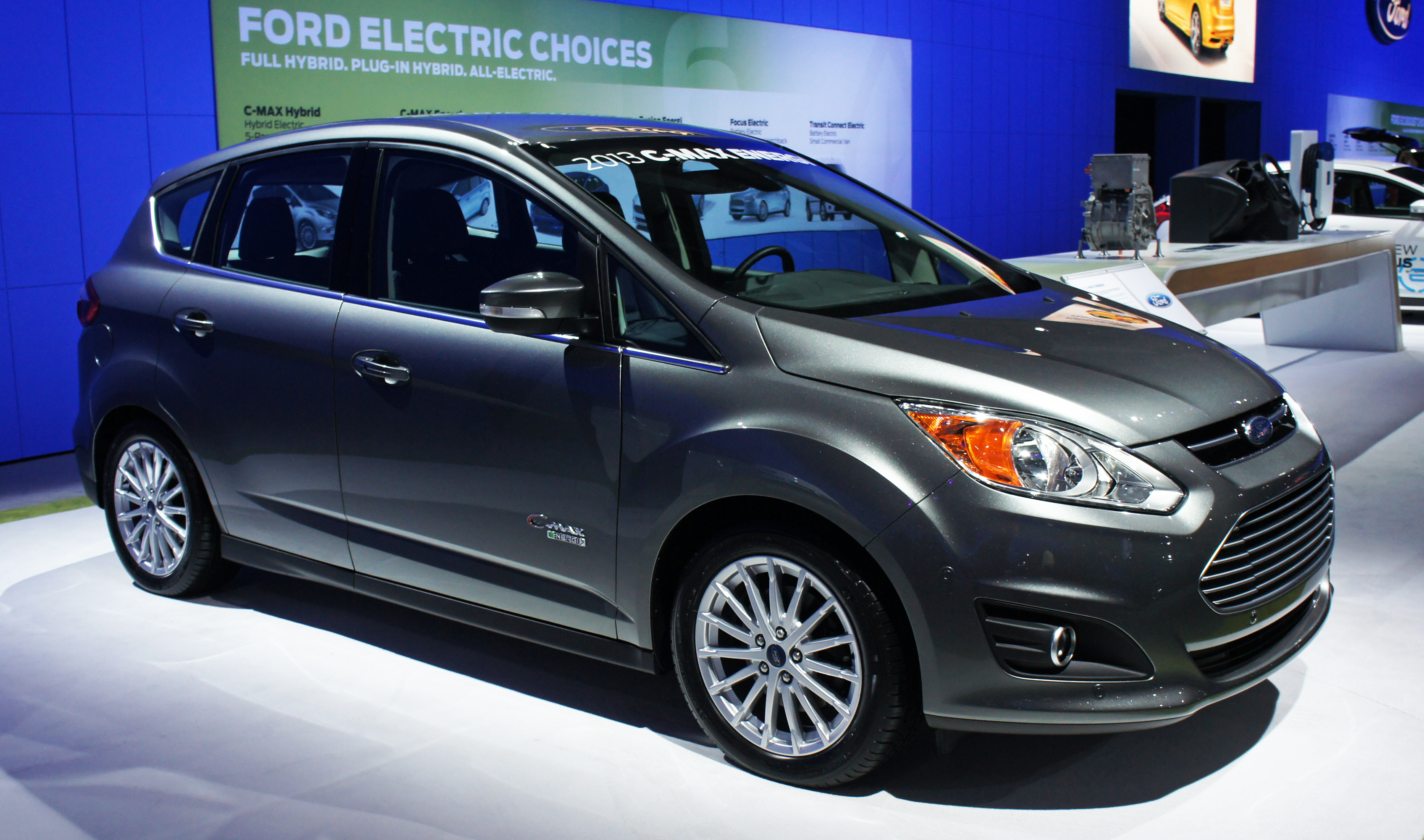 The ford c max s first full month on sale was a fruitful