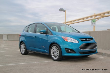 review: 2013 ford c-max energi plug-in hybrid (video) - the truth