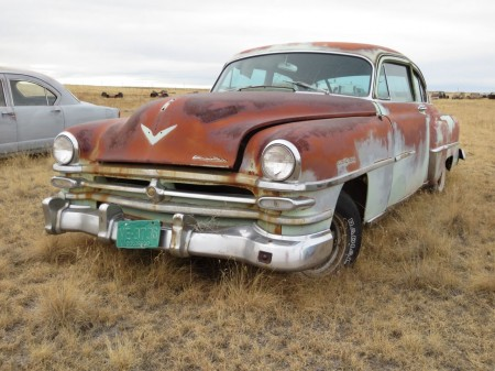 03 - 1953 Chrysler New Yorker Down On the Junkyard - Picture courtesy of Murilee Martin