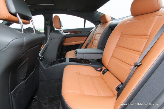 2013 Mercedes-Benz  CLS63 AMG Interior, Rear Seats, Picture Courtesy of Alex L. Dykes
