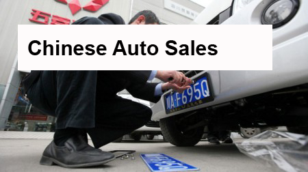 Chinese Auto Sales