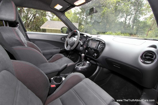 2013 Nissan Juke Nismo Interior, Dashboard, Picture Courtesy of Alex L. Dykes