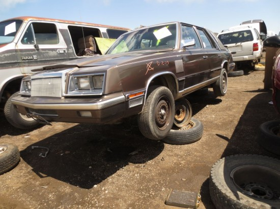 24 - 1994 Chrysler New Yorker Down On the Junkyard - Picture courtesy of Murilee Martin