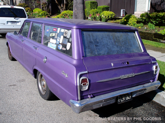 Early Chevy II Wagon (2)